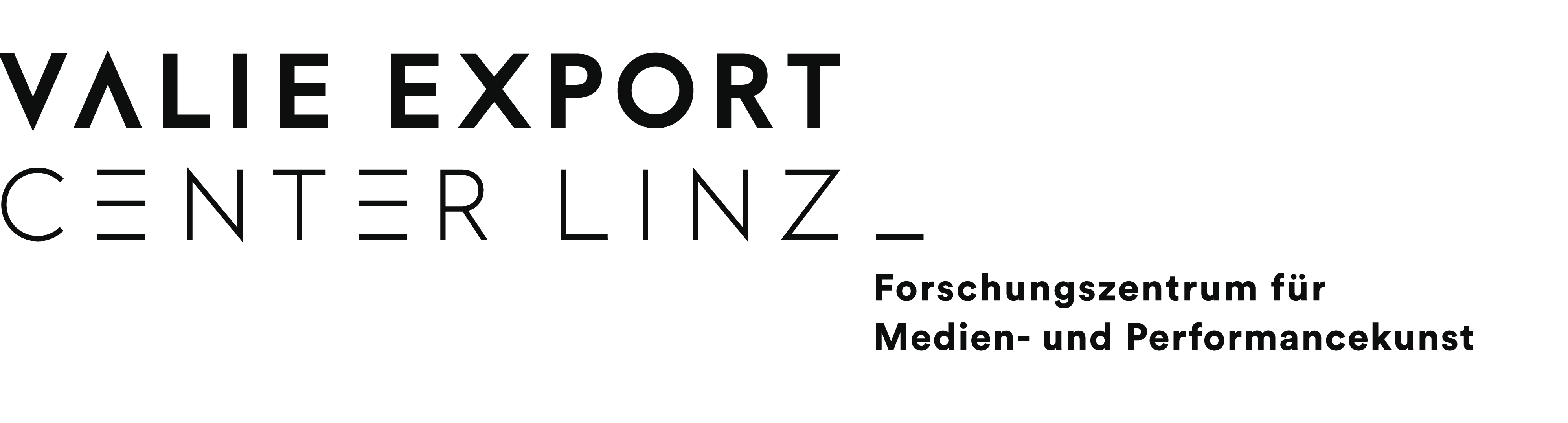 """VALIE EXPORT Center Linz - Logo"""